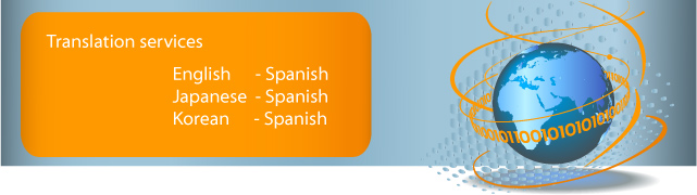 English to Spanish, Japanese to Spanish and Korean to Spanish Professional Translation Services